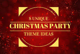 theme ideas 8 unique christmas party theme ideas jd