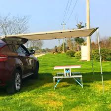 Vehicle Tents Awnings Outsunny 8 2 U0027x8 2 U0027 Rooftop Shelter Tent Car Side Awning Suv