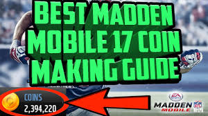best madden mobile 17 coin making guide amazing madden mobile 17