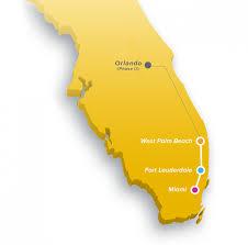 West Palm Beach Map Brightline The Palm Beaches Florida