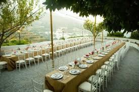 Wedding Table Set Up Marbella Wedding Gallery Fiesta Sol
