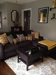 Grey Brown Yellow Living Rooms Google Search Living Room Color - Grey and brown living room decor ideas