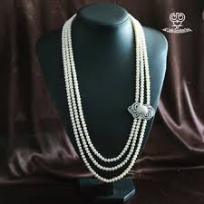 long silver pearl necklace images Cheap pearl necklace find pearl necklace deals on line at jpg