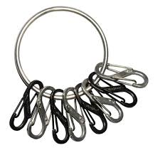 s ring nite ize steel big key ring with carabiners brg m1 r3 the home depot