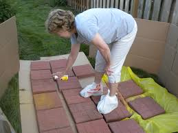Painting Patio Pavers Paint Concrete Patio Pavers Icamblog