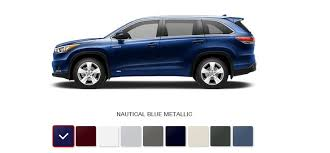 colors for toyota highlander 2016 toyota highlander hybrid review mpg price