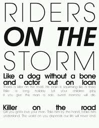 Big Lizard In My Backyard Lyrics The Doors Riders On The Storm Song Lyrics Song Quotes Songs