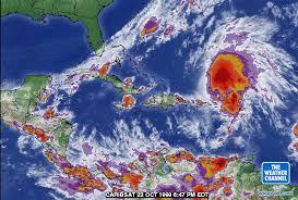 caribbean weather map jose through lenny 1999 season of the caribbean hurricane page
