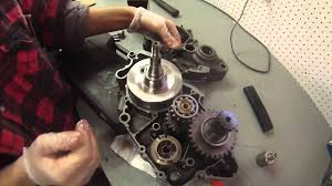 2004 ktm 125sx bottom end rebuild part 1 youtube