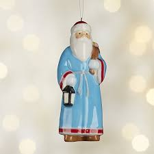 around the world greece santa ornament crate and barrel gift