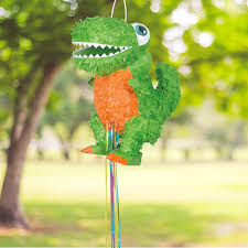 dinosaur pinata t rex dinosaur pinata pull string walmart