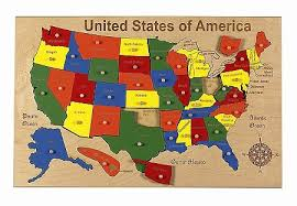 map usa jigsaw united states map puzzle map of usa states