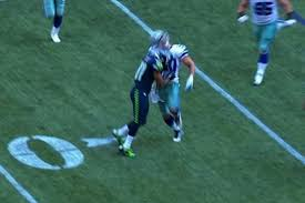 Blind Side Block Penalty Golden Tate Reportedly Fined For Vicious Hit On Sean Lee