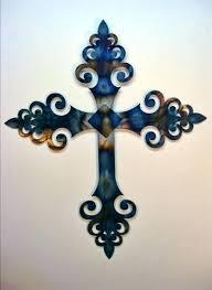 large wall crucifix metal crosses wall large wall crucifix metal wall crosses