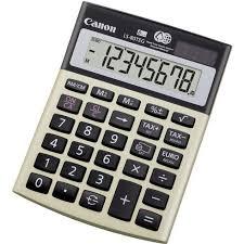 calculatrice bureau calculatrice de bureau canon hs 1200tcg maxiburo