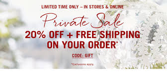 Free Shipping Pottery Barn Pottery Barn Private Sale 20 Off Free Shipping Get