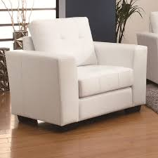 White Leather Tufted Sofa Enright White Leather Chair Steal A Sofa Furniture Outlet Los