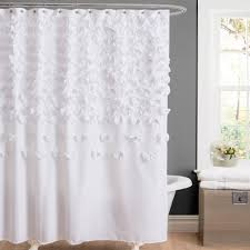 Threshold Medallion Shower Curtain by White Waffle Shower Curtain Click To Enlarge Bed U0026 Bath