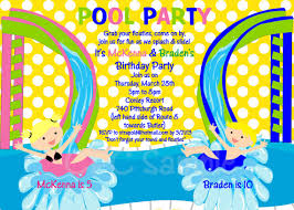 Backyard Birthday Party Invitations by Water Slide Birthday Party Invitations Dolanpedia Invitations Ideas