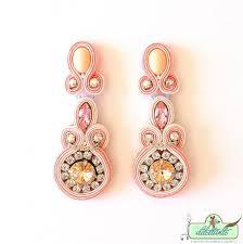 soutache earrings one of a soutache earrings by dilettantesoutache on deviantart