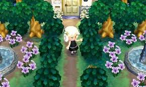 acnl shrubs perfect town finally a forest life