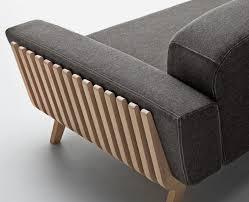 canapé en bois bdd img canape bois design canap canapes