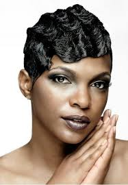 natural pin up hairstyles for black women finger waves on short african american hair google search