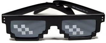 Pixel Sunglasses Meme - thug life 8 bit internet glasses 8 bitters