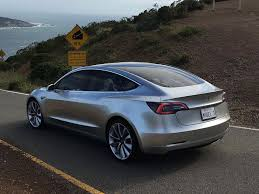 tesla model 3 my electric car