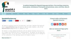 where to find free spanish language resources for teachers acis blog