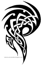 tribal celtic design