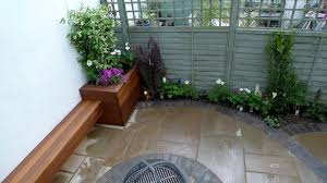 indoor outdoor flow in cheltenham courtyard garden designers