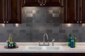 beautiful aluminum backsplash kitchen photos home design ideas
