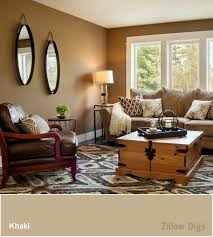 livingroom wall colors room color trend khaki is the new white weather autumn and brown