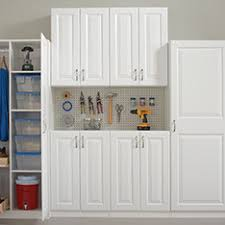 wood garage storage cabinets shop garage organization at lowes com