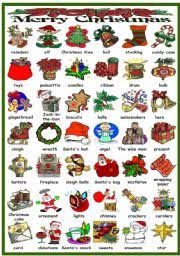 english worksheets christmas worksheets page 1