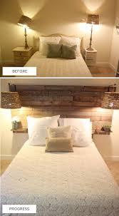 How To Make Wood Paneling Work by Headboards Diy Wood Panel Headboard Bedroom Space Love Bedroom