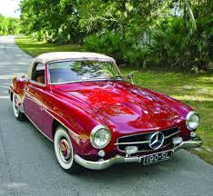 classic red mercedes sl perfection 1961 mercedes benz 190 sl from rust hemmings