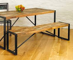 vintage industrial dining room table home design ideas