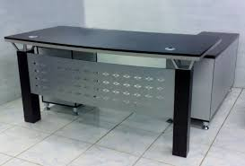 modern office table furniture jabari computer table black modern new 2017 desk