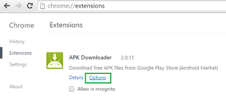 how to apk files from play