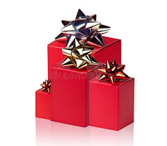 boxes with bows boxes with bows stock photo image of christmas pack 27430034