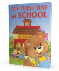 Personalised Keepsake Story Book For Children By My My Day At School Personalized Books For