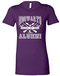 hogwarts alumni t shirt small purple juniors hogwarts alumni t shirt clothing