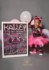 minnie mouse birthday minnie mouse birthday chalkboard 1st birthday