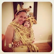 giraffe halloween costumes babywearing at halloween babywearing costumes and halloween