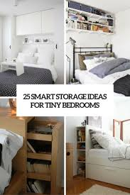 Storage Ideas For Small Bedrooms by 25 Smart Storage Ideas For Tiny Bedrooms Shelterness