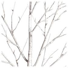 philips 6ft prelit slim artificial birch twig tree warm