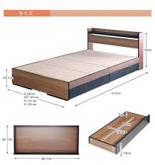 Height Of Bed Frame Interior Y Works Rakuten Global Market Bed Frame Size