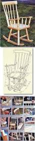 craftsman rocking chair plans furniture plans and projects